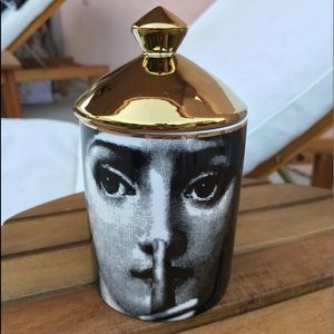 Fornasetti small candle jar container NEW